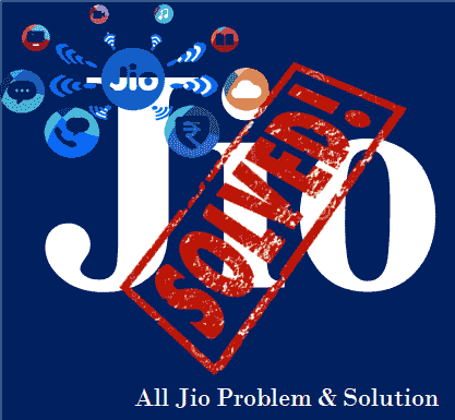 reliance jio problem solve hindi