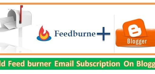 Feedburner feed Blogger में​ कैसे ADD करें Traffic ke liye