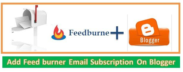 feed burner email subscription on blogger