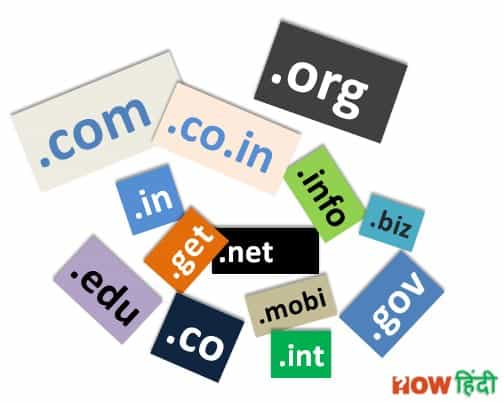 domain name list
