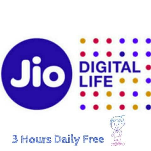 Jio 4G 3 Hours [Night 2 Am to 5 Am] Free Unlimited Internet कैसे चलाये
