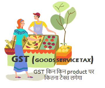 gst service tax product market
