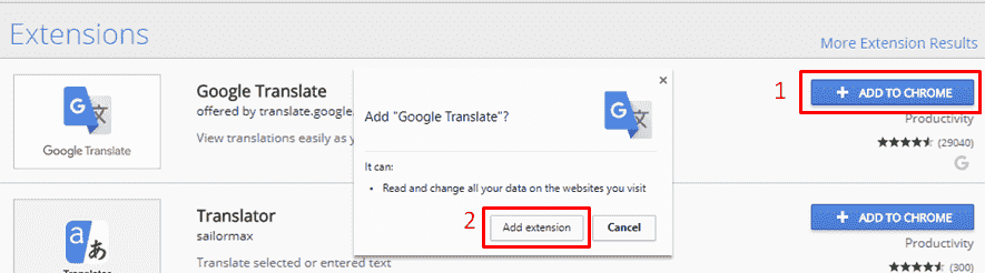 add extension chrome browser