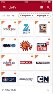 jio tv apps free mobile tv