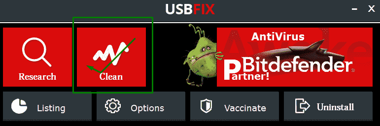usbfix software pendrive virus remove