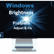 Windows Brightness Control Not working problem Fix कैसे करे