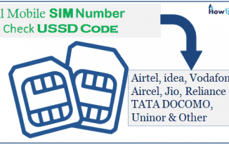 Mobile sim Number check pta ussd code