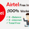 Airtel Free Internet Tricks in Hindi [100% Working] 2017