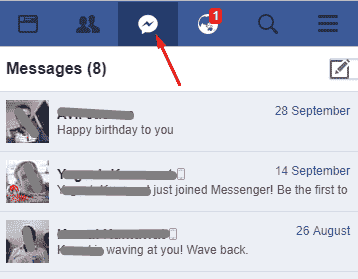 how to send message to friend on facebook in hindi language