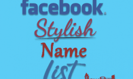 Stylish Name List For Facebook Fonts [girls & boys]