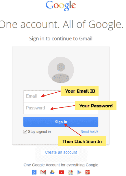 Create New Email Id login kaise kare