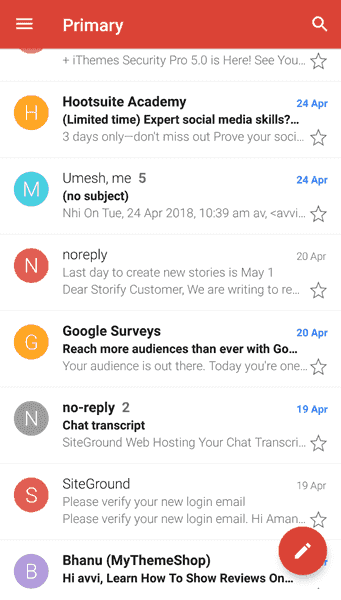 Email Inbox Gmail Hindi