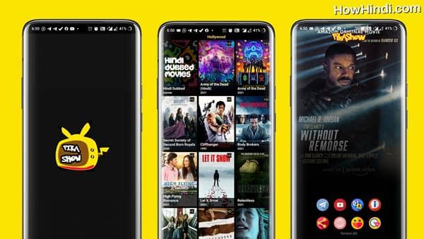 Hollywood Movies in Hindi Dubbed Download Pikashow Apps
