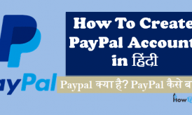 Paypal kya hai? How to Create PayPal Account in Hindi
