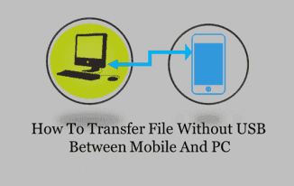 How To Transfer Data Without Data Cable Between Mobile And PC