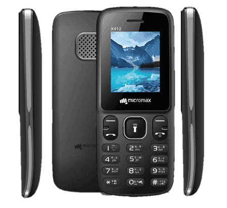 Micromax X412 Sabse Sasta Mobile Phone in india price list