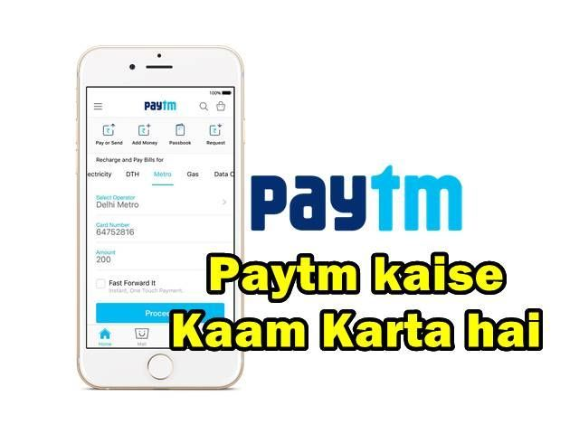 Paytm Kaise Kaam Karta hai use in hindi recharge payment bank cashback offer