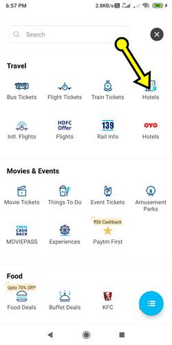 Paytm Se Hotel Booking Details In Hindi