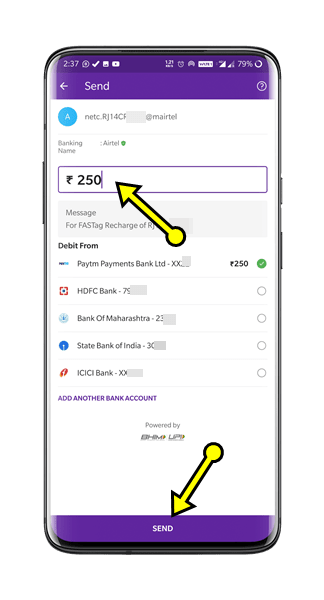PhonePe App Se FASTag Recharge Kaise Kare