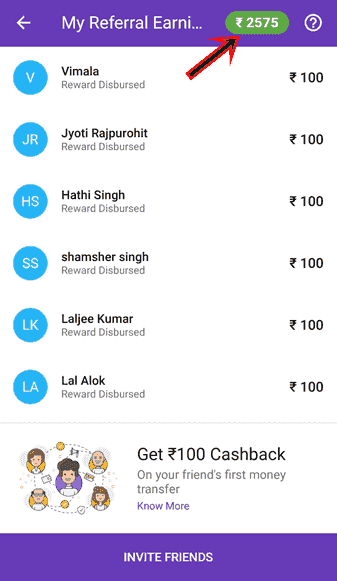 PhonePe Referral Earning Free Recharge kaise kamaye Paye