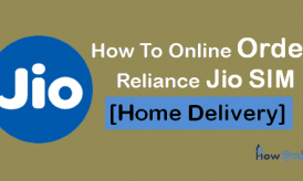 Reliance Jio SIM कैसे Online Oder करें? [Home Delivery]