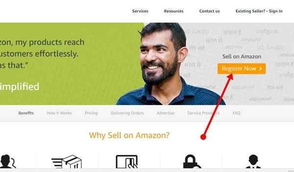 Sell On Amazon Register Account Hindi