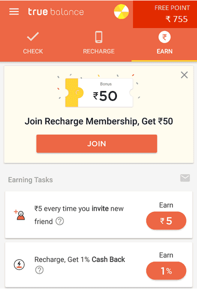 True Balanc earning App Ean Make Money Hindi