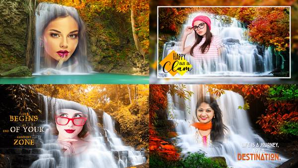 Waterfall Photo Frame Wala Apps Download