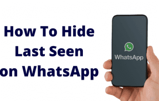 How to Hide Last Seen on WhatsApp Messenger (Easy Step)