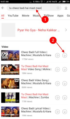 vidmate gana mp3 song download kaise kare